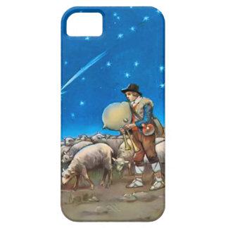 Schapen en herder barely there iPhone 5 hoesje