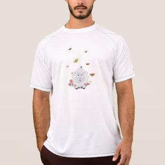 Schapen met bloemen en vlinders Z1mk7 T Shirt