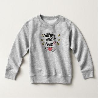 Schattige Allen u wenst is Liefde   Sweatshirt