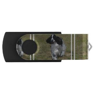 Schattige Engelse Cocker-spaniël USB Stick