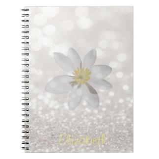 Schattige Girly, Daisy, Glittery, Notitieboek