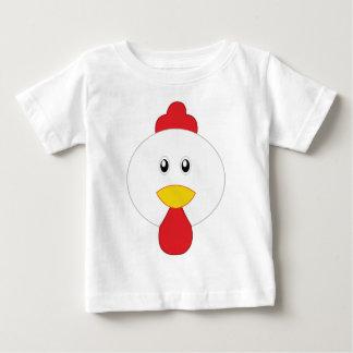 Schattige Haan Weinig Dierentuin Baby T Shirts