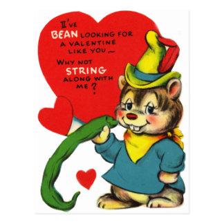 Schattige Snijboon Valentijn Briefkaart