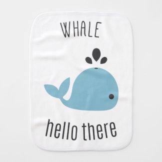Schattige Walvis (goed) Hello daar! Baby Monddoekjes