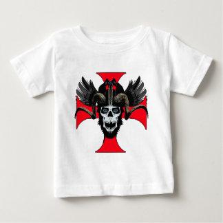 Schedel 3 tw van de ram baby t shirts