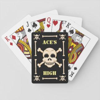 Schedel & de Hoge Speelkaarten van de Azen van
