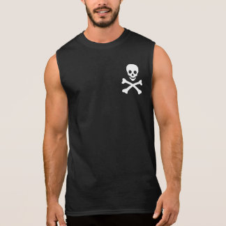 Schedel en Gekruiste knekels T Shirt