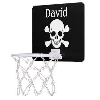 Schedel en het Meisje van het Bot/Jongen Mini Basketbalring