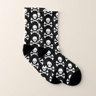 Schedel en het Patroon van Gekruiste knekels Sokken