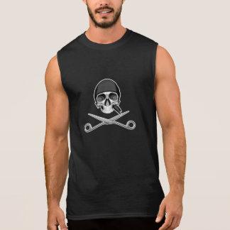 Schedel en Schaar T Shirt
