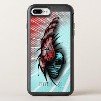 Schedel en Vlinders OtterBox Symmetry iPhone 8 Plus / 7 Plus Hoesje