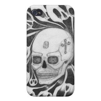 Schedel en zielenafbeeldingen iPhone 4/4S case