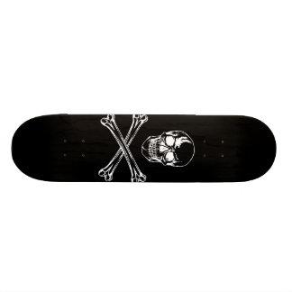 Schedel & het Skateboard van Gekruiste knekels