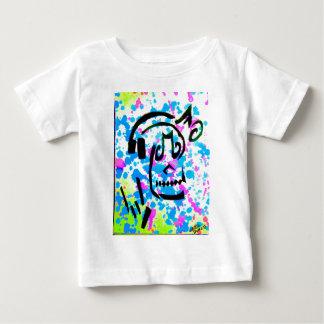 Schedel I van de muziek Baby T Shirts
