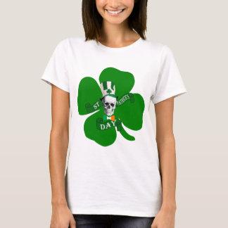 Schedel Ierse St Patricks T Shirt