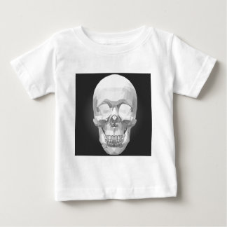 Schedel in Lage Poly Baby T Shirts