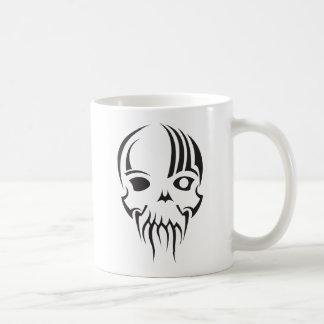 schedel masker koffiemok