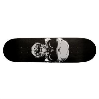Schedel met Zonnebril op Zwart Skateboard