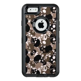 Schedel OtterBox Defender iPhone Hoesje