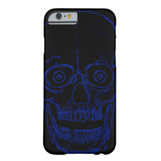 Schedel van de Demon van de Schedel van Skully de Barely There iPhone 6 Hoesje