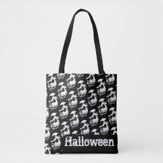 Schedel | van Halloween Canvas tas