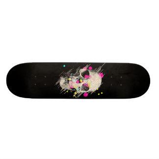 schedel verf skate decks