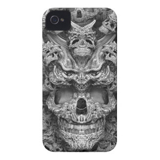 Schedels iPhone 4 Hoesje