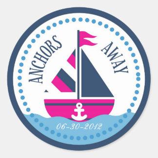 Schepen Ahoy! De Sticker B van het meisje
