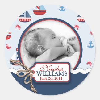 Schepen Ahoy! De Sticker van de foto