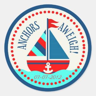 Schepen Ahoy! Sticker B