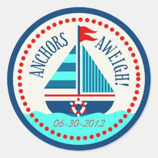 Schepen Ahoy! Sticker C
