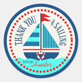 Schepen Ahoy! TY sticker