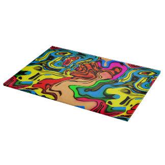 Scherpe Raad van het Ontwerp van de Kleuren van de Snijplank