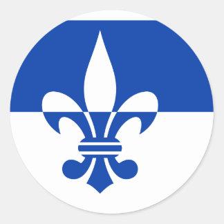 Scherpenzeel, de vlag van Nederland Ronde Sticker