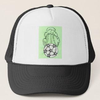 Schets 3 van de Bal van het voetbal Trucker Pet
