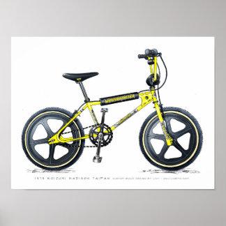 Schets BMX van Madison Taipan LixBMX van Koizumi Poster