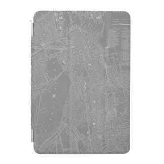 Schets van de Kaart van de Stad van Boston iPad Mini Cover