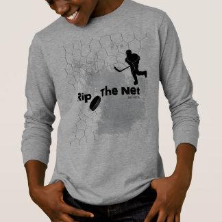 Scheur de Netto Speler van het Hockey T Shirt