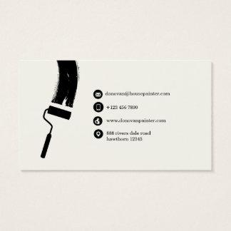 schilder visitekaartje/professionele schilder visitekaartjes