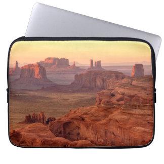 Schilderachtig de vallei van het monument, Arizona Laptop Sleeve