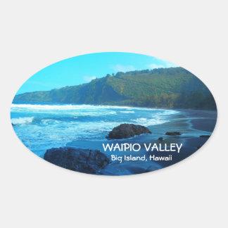 Schilderachtig stickers van Hawaï van het Eiland