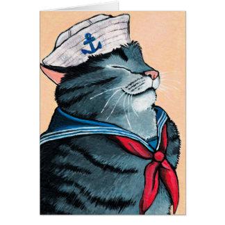 Schilderen van de Kat van de Gestreepte kat van de Kaart
