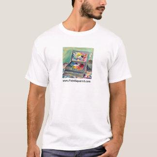 Schilderend Overhemd • De Doos van de verf • T Shirt