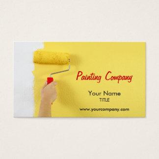 schilderende bedrijf/schilder/binnenlandse visitekaartjes