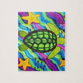 schildpad legpuzzel