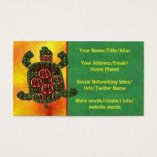 Schildpad Visitekaartjes