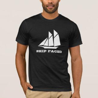 Schip het Onder ogen gezien het Varen van de T Shirt