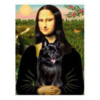 Schipperke 7 - Mona Lisa Briefkaart