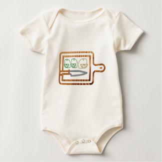 Schitter aan boord Citroen en Kalk Baby Shirt
