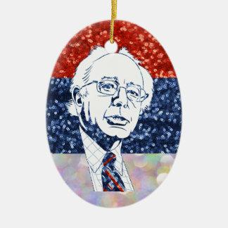 schitter de schuurmachines van Bernie Keramisch Ovaal Ornament